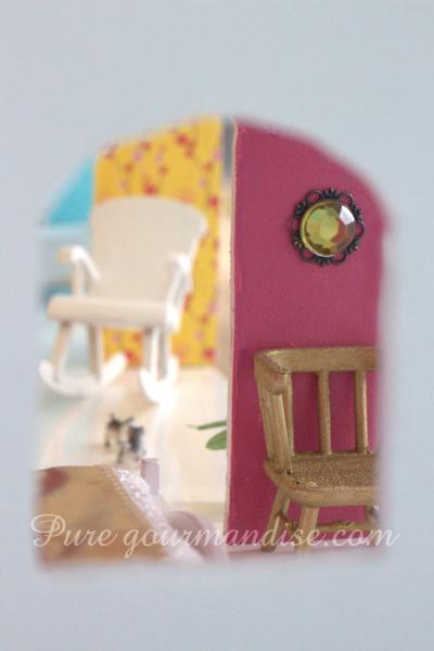 Ma maison de poupée en bois - www.PureGourmandise.com #DIY #dollhouse #puppenhuis #puppenhaus