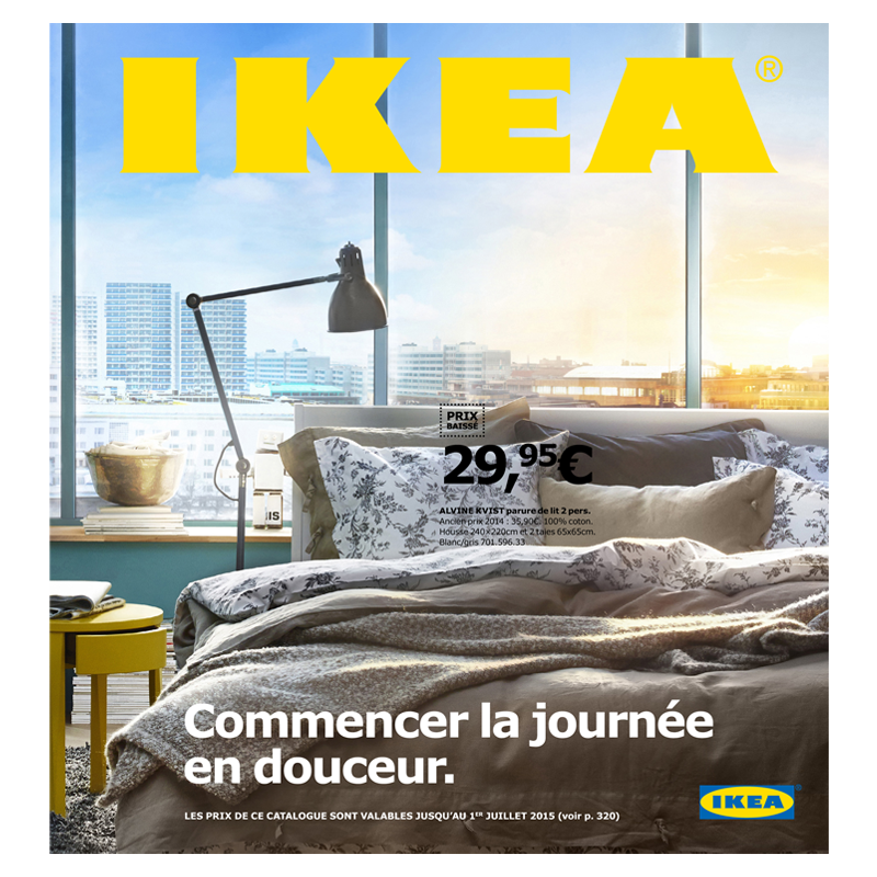 nouveau catalogue ikea 2015 pure gourmandise le blog. Black Bedroom Furniture Sets. Home Design Ideas