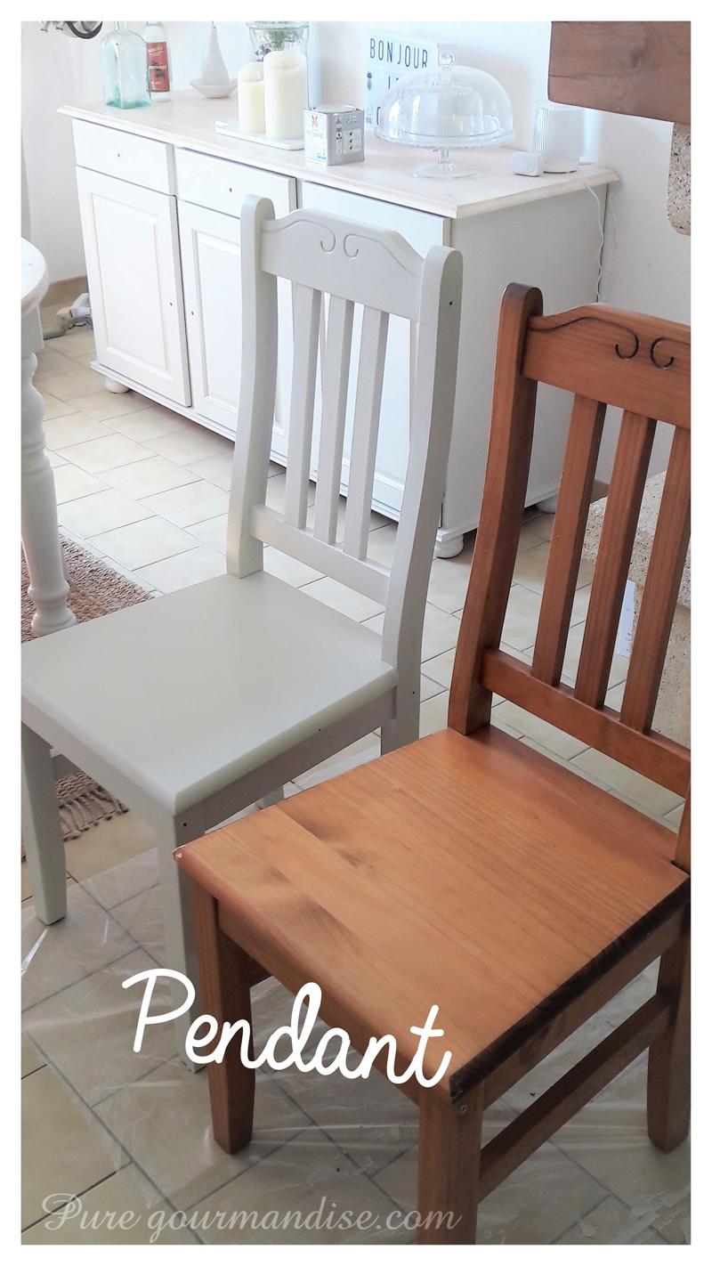 Comment Repeindre Des Fauteuils En Rotin diy] repeindre des meubles en pin vernis | pure gourmandise