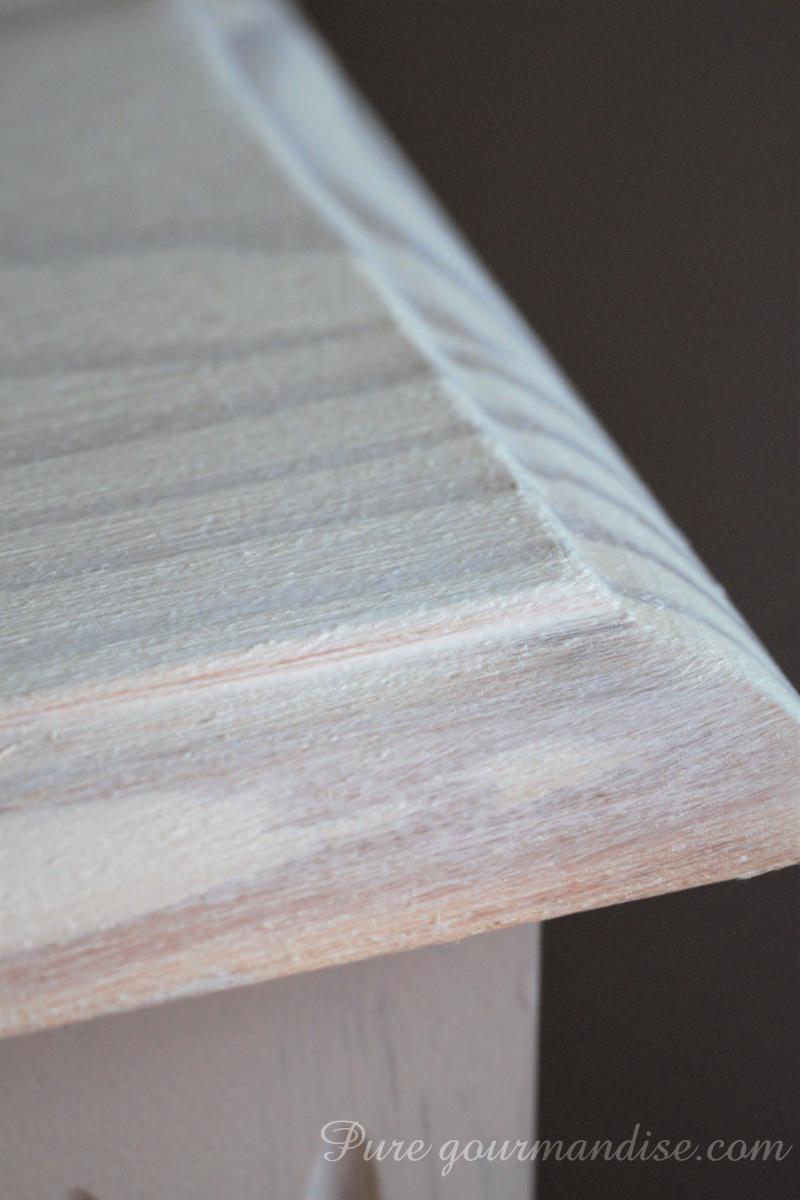 Relooker Meuble En Pin Vernis diy] repeindre des meubles en pin vernis | pure gourmandise